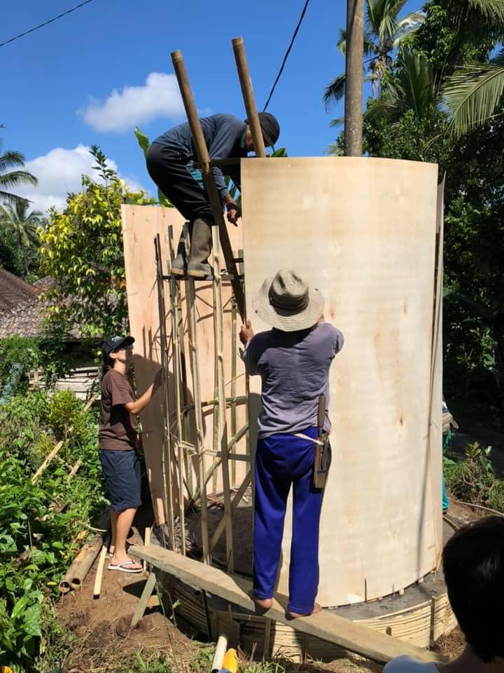 Water Tower - Building The Walls 2