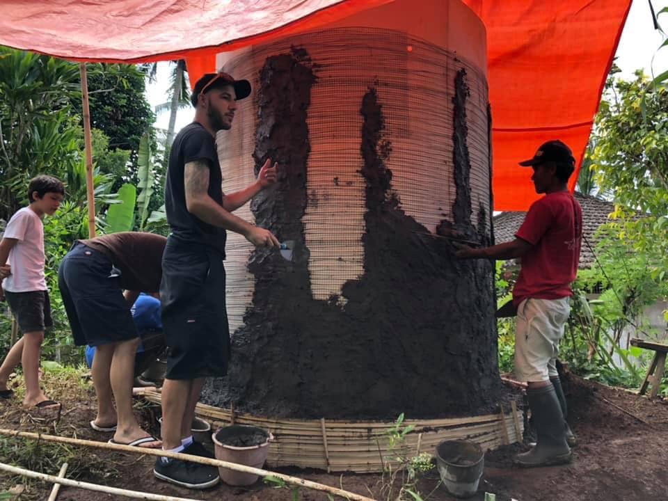 Water Tower - Building The Walls 3